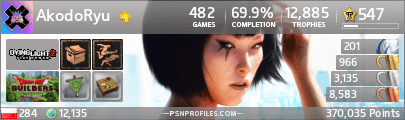 Profil PSN AkodoRyu
