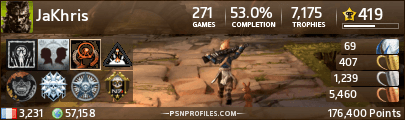Profil de trophées PSN